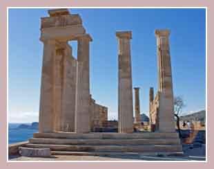 храм богини Афины