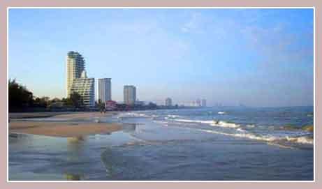 курорт Хуа Хин, пляж