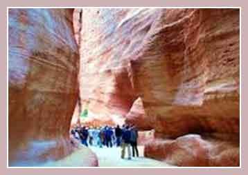 Экскурсия в Цветной каньон Нувейбы, Египет