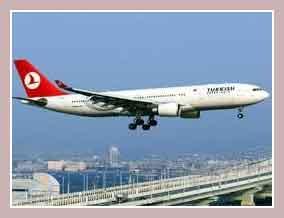 самолеты в Турции