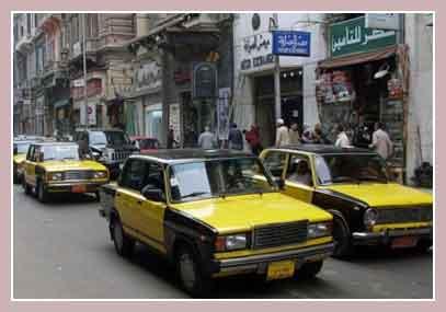 такси в Каире