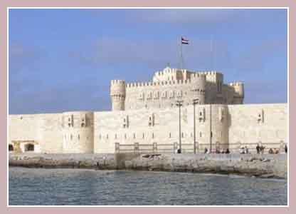 Форт Кайт-бей, Александрия, Египет