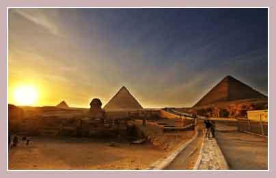 Гиза, фото пирамид