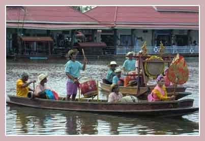 Hua Hin Floating Market - плавучий рынок
