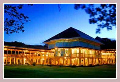 Mrigadayavan Palace летняя резиденция короля Таиланда