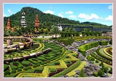 Тропический сад «Nong Nooch» в Паттайе