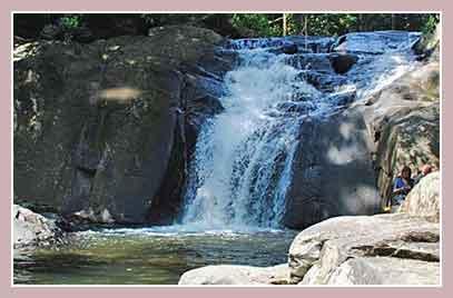 Водопад Pa La U