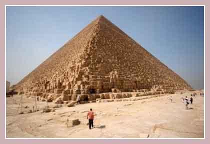 пирамида Хеопса, Гиза, Египет