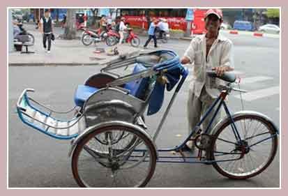 Рикша в Таиланде