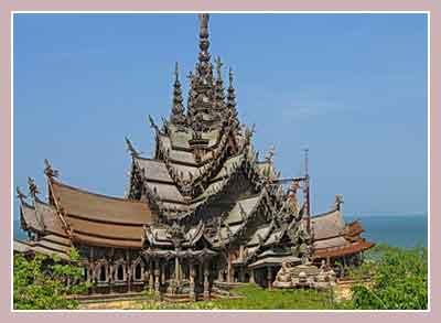 Святилище истины (Храм Правды) в Паттайе