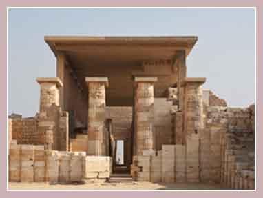 Саккара, некрополь в Египте