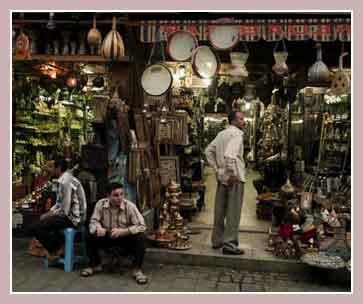 торговцы в Египте