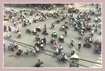 Полезная информация по Таиланду: трафик на улицах