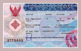 Виза Таиланда