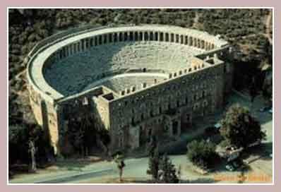 амфитеатр Аспендус