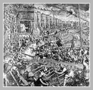 захват Константинополя