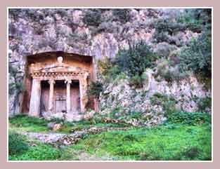 Ансамбль скальных гробниц