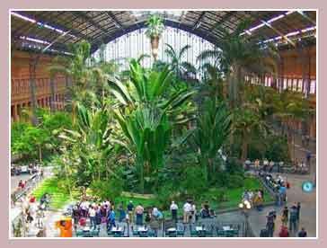Железнодорожный вокзал Estaci?n de Atocha