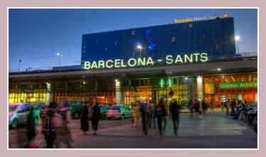 вокзал Барселоны