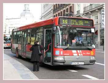 автобус Мадрида
