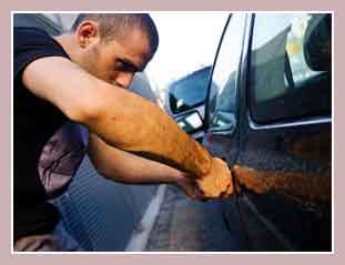 грабеж машин в Испании