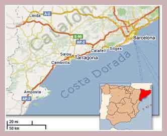 побережье Коста-Дорада