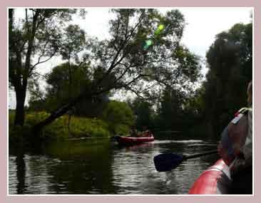 Маршрут по реке Истра