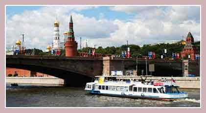 Речной транспорт Москвы