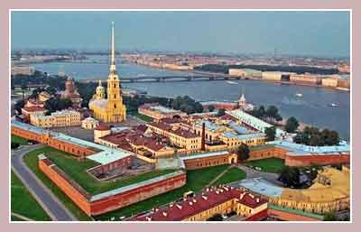 Петропавловская крепость. Петербург