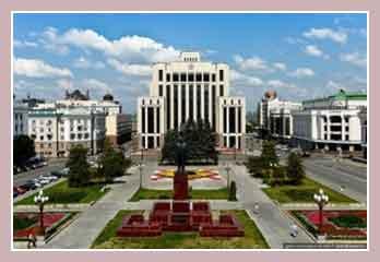 Площадь Свободы в Казани