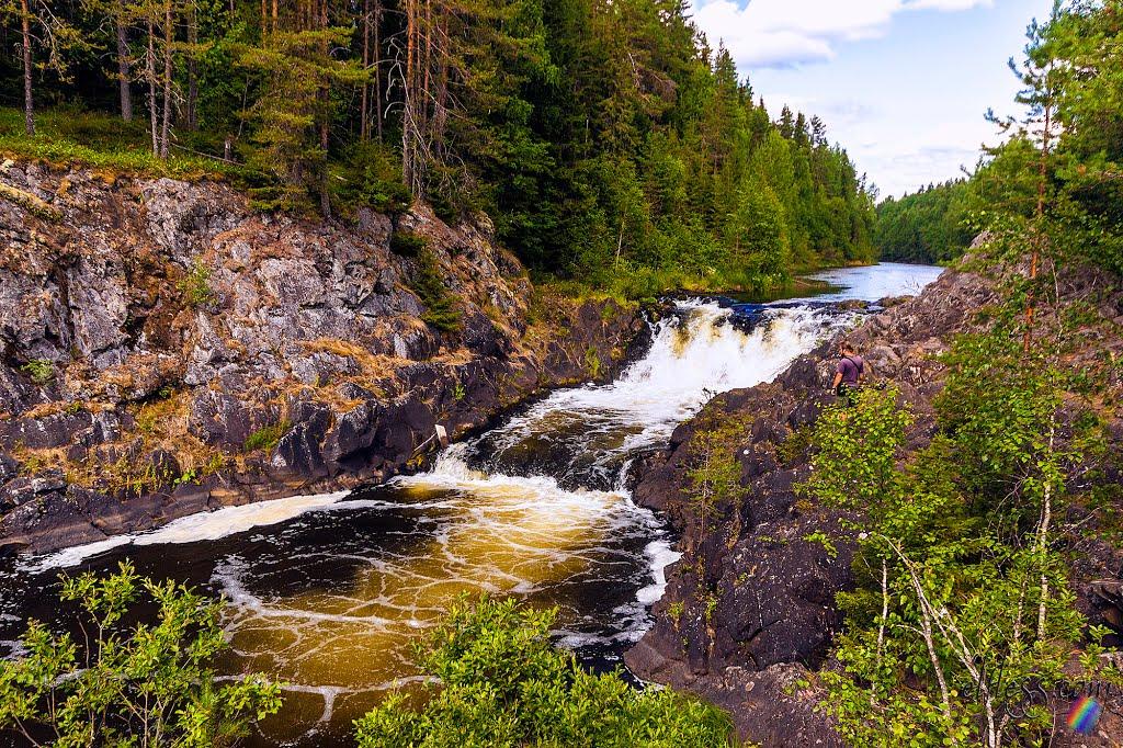 Достопримечательности Карелии: водопад Кивач