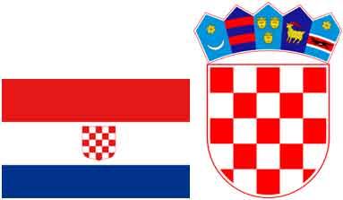 флаг и герб Хорватии