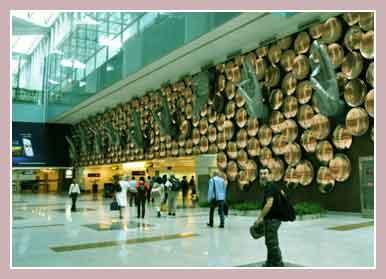 аэропорт в Нью-Дели