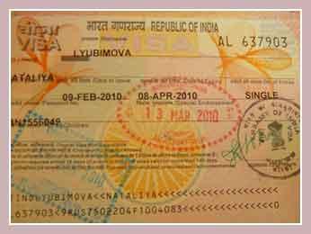Виза в Индию для туриста
