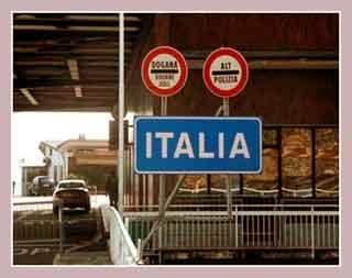 Таможня Италии