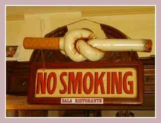 Курение в Италии