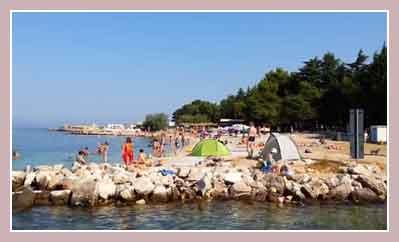 Пляжи Пореча