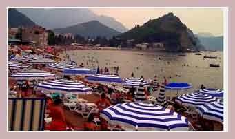Пляжи Петроваца