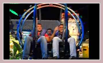 катапульта в Луна-парке