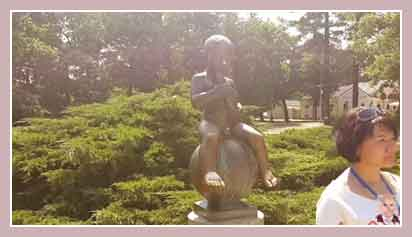 скульптура мальчика Франтишка