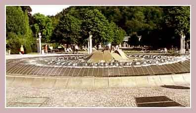 «поющий» фонтан