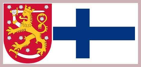 Герб и флаг Финляндии