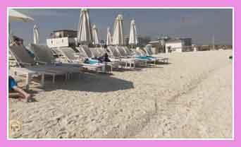 Пляжи Абу-Даби