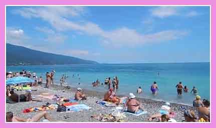 Гагры город Фото пляжа развлечения частный сектор достопримечательности что посмотреть туристу