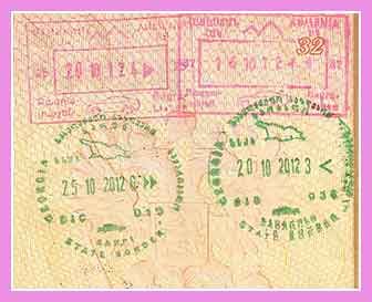 Виза в Грузию для туриста