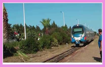 Поезд в Монастире
