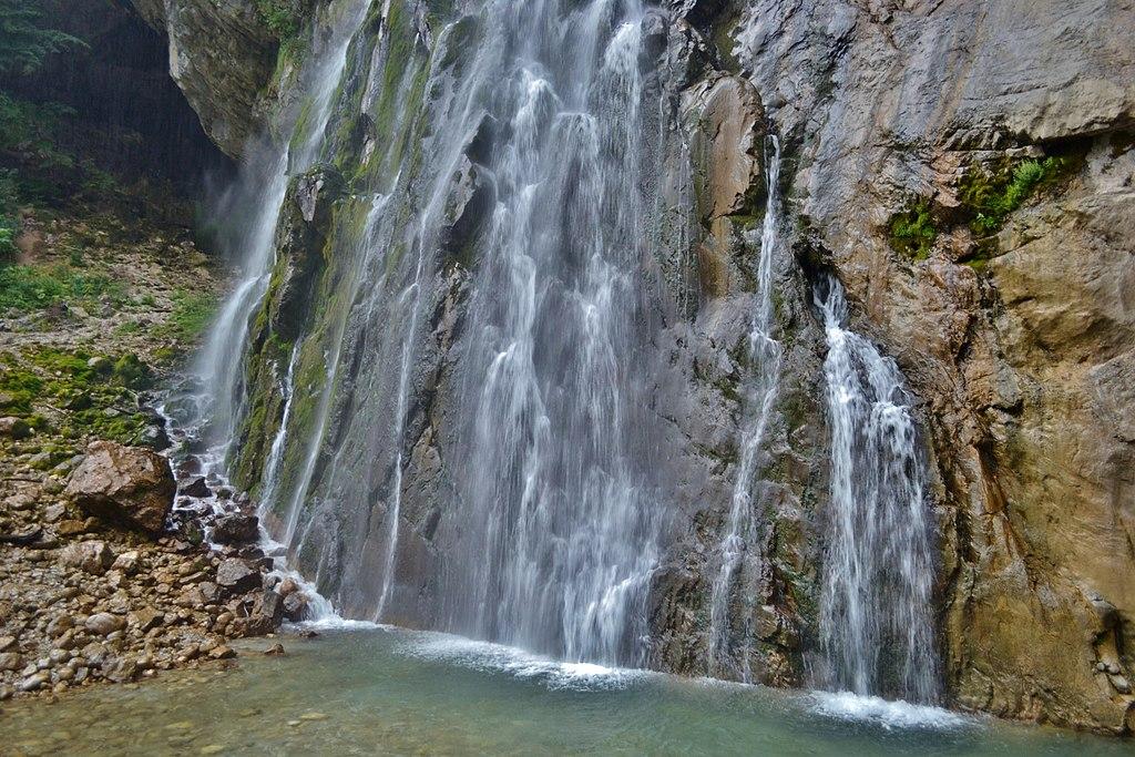 """фото по запросу """"Достопримечательности Абхазии: Гегский водопад"""""""