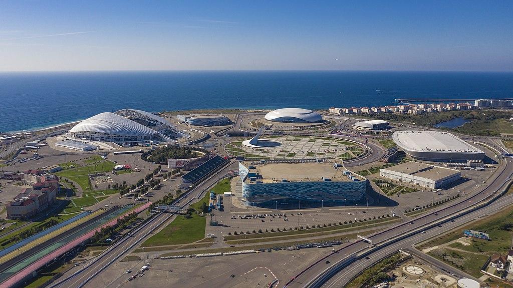 """фото по запросу """"Достопримечательности Сочи: Олимпийский парк"""""""