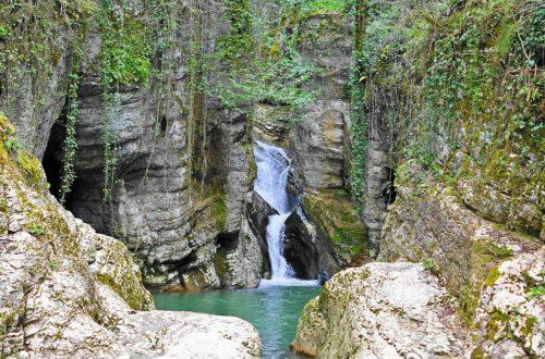 Агурские водопады, Сочи: как добраться и что посмотреть. Маршрут