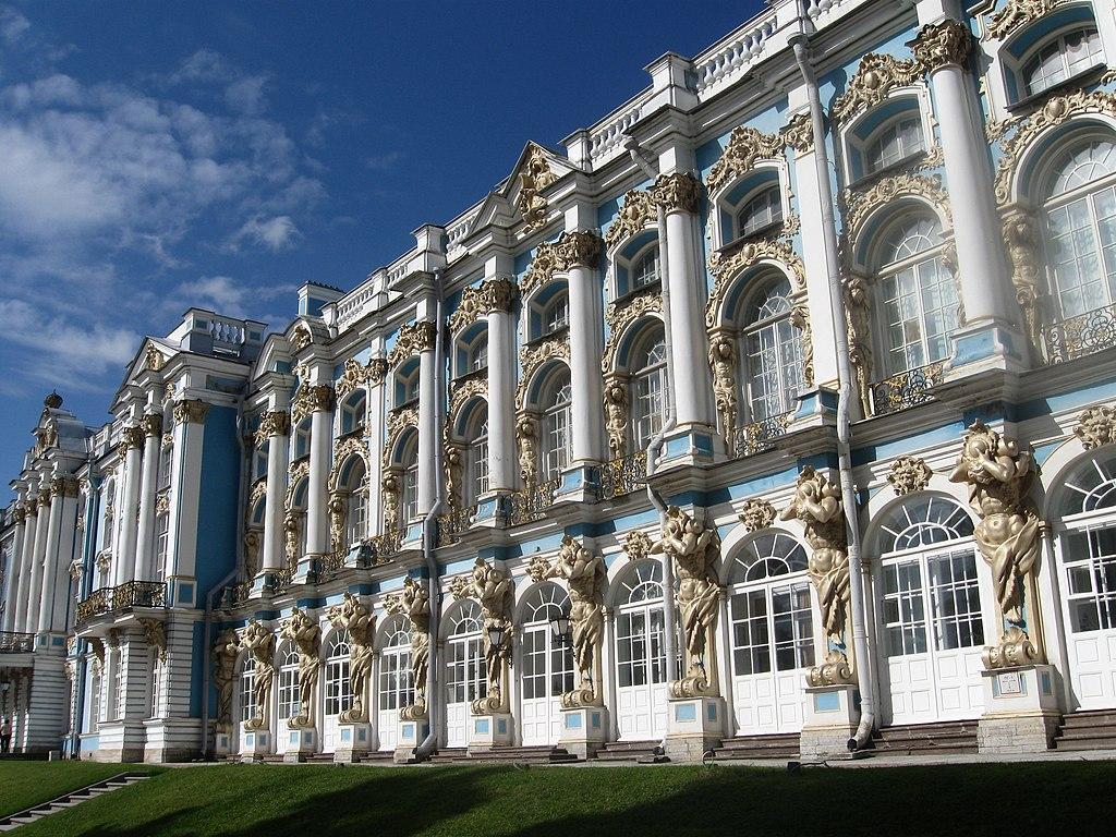 достопримечательности Петербурга: Екатерининский дворец (Царское село, или Пушкин)